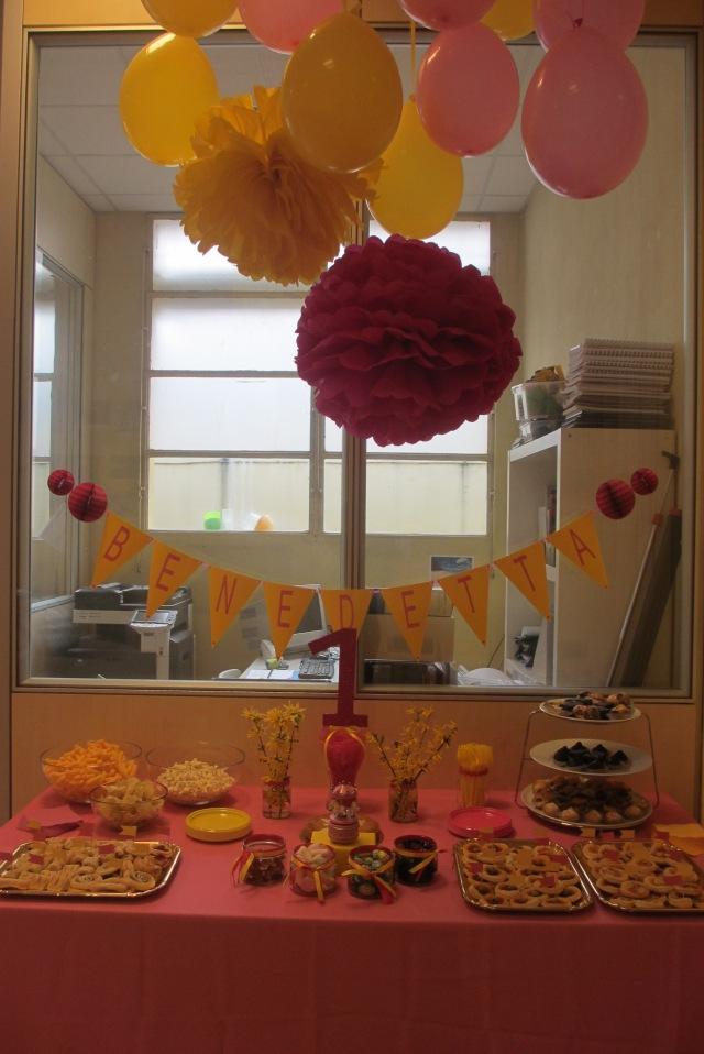 Fucsia&giallo party